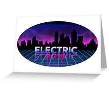 Electric Fury Greeting Card