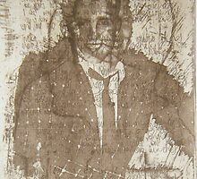 Once I was a Rude Boy, Solar Photopolymer Plate Etching, Print, 2001 by emmasm02