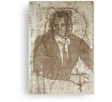 Once I was a Rude Boy, Solar Photopolymer Plate Etching, Print, 2001 Canvas Print