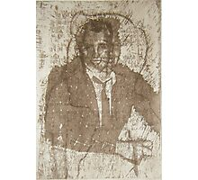 Once I was a Rude Boy, Solar Photopolymer Plate Etching, Print, 2001 Photographic Print