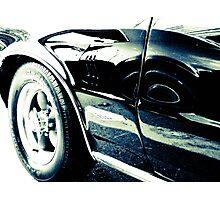 Classic Car Reflection Photographic Print