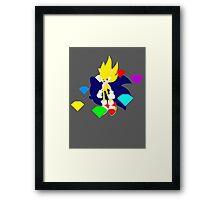 Super Smash Bros Super Sonic Framed Print