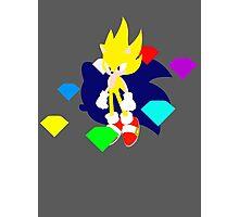 Super Smash Bros Super Sonic Photographic Print