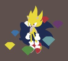 Super Smash Bros Super Sonic Kids Clothes