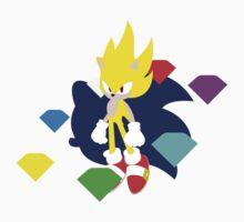Super Smash Bros Super Sonic Kids Clothes