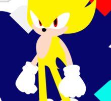 Super Smash Bros Super Sonic Sticker