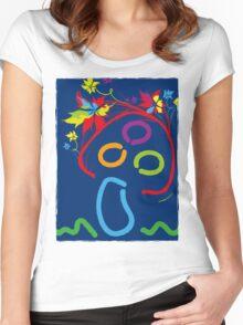 Mushroom Women's Fitted Scoop T-Shirt
