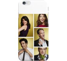 HIMYM cute character photos iPhone Case/Skin