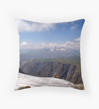 Mont Blanc Throw Pillow