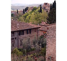 Village in Italy Photographic Print