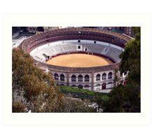 Spanish arena Art Print