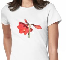 Time to flower Womens Fitted T-Shirt