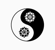 Lotus Flower Yin Yang Unisex T-Shirt