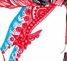 Aladdin Sane  Sticker