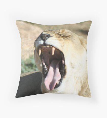 This Is So Boring Throw Pillow