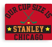 Chicago Cup Size Canvas Print