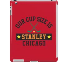 Chicago Cup Size iPad Case/Skin