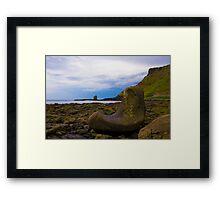 Fionn mac Cumhaill's Boot Framed Print