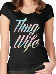 Thug Wife Life Women's Fitted Scoop T-Shirt