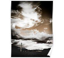 Dramatic skies Poster