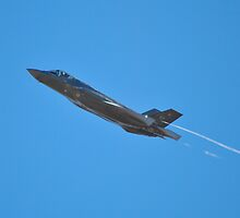 F-35A Lightning II by Eleu Tabares
