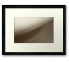 P&O's Arcadia Curves Framed Print