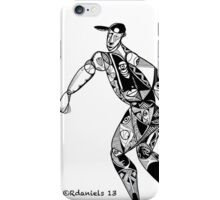 Tribute To Jackie Robinson iPhone Case/Skin
