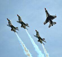 U.S. Air Force Thunderbirds by Eleu Tabares