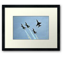U.S. Air Force Thunderbirds Framed Print
