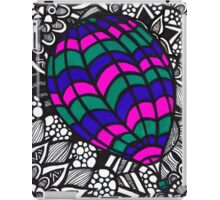 Hot Air Balloon Zentangle iPad Case/Skin