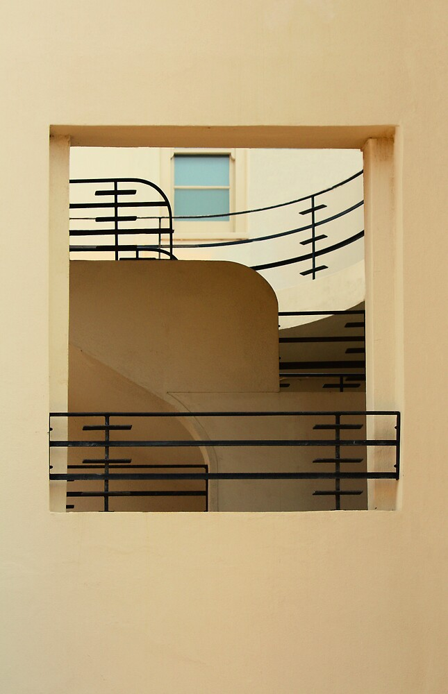 art deco style ironwork by Christopher Biggs