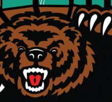 Engineer Records Grizzlies Design Sticker