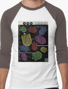 """""""Sheldon Wears Nanotubes""""© Men's Baseball ¾ T-Shirt"""