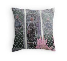 St. George's Church glass Throw Pillow