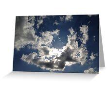 Cloudy Sky Greeting Card