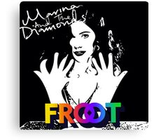 Marina And The Diamonds FROOT Canvas Print