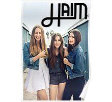 HAIM Levi's Poster