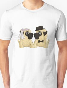 Wedding Pugs T-Shirt