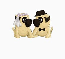 Wedding Pugs Unisex T-Shirt