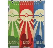 Pokemon - Art Deco Style iPad Case/Skin