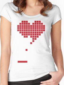 Heart Women's Fitted Scoop T-Shirt