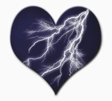 Lightning Bolt Heart Kids Clothes