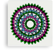 Colourful Mandala Canvas Print