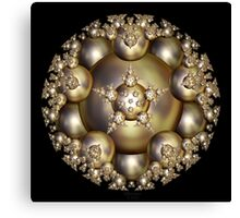 'Golden Pearl Cluster' Canvas Print
