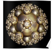 'Golden Pearl Cluster' Poster