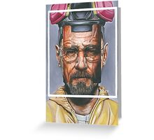 Oil Painting of Heisenberg Greeting Card
