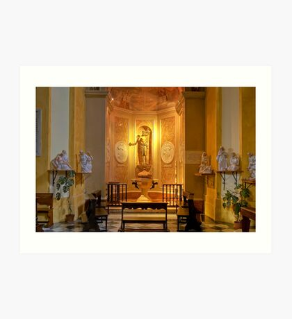 Collegiata of San Michele Arcangelo - Brisighella - Italy Art Print
