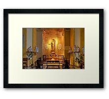 Collegiata of San Michele Arcangelo - Brisighella - Italy Framed Print