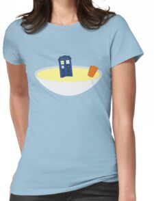 Fishfingers and Custard Womens Fitted T-Shirt