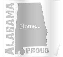 Alabama Proud Tee Poster